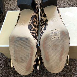 MICHAEL Michael Kors Shoes - Michael Kors Keira Mid Pump mohair leopard